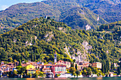 The iconic village of Varenna on the shore of Lake Como, Lecco province, Lombardy, Italy