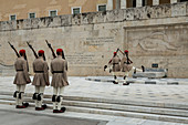 Change of Guard at the Greek Parliament in Syntagma Square, Athens, Greece
