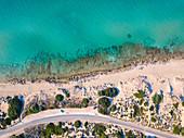 Salento aerial view, Puglia, Salento, Italy, Europe.
