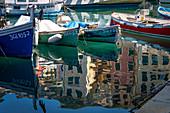 Camogli seaport, Genova district, Liguria, Italy