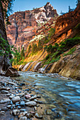 Die Narrows, Zion National Park, Utah, Notrh America, USA