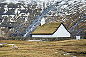 Saksunar Church (Saksun village, Streymoy island, Faroe Islands, Denmark)