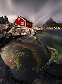 Reine, Moskenes?y, Lofoten islands, Norway, north Norway, arctic region, Europe, northern europe, scandinavian,