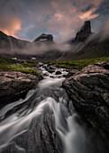 Romsdalen, Romsdalen valley, National park, M?re og Romsdal county, Vestlandet, Norway, North europe,Europe,