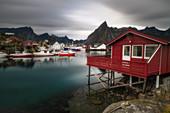 Hamnoy, Moskenesoy municipality, Lofoten islands, Norge, Norway, North Europe, Europe