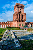 Pollenzo ancient city near Bra, Province of Cuneo, Piedmont, northern Italy, Europe