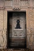Asia,India,Uttar Pradesh, Khajuraho district, Jain temple.