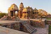 Asia, India, Madhya Pradesh, Chhatarpur district. Kajuraho group of monuments.