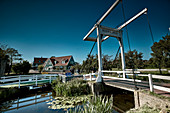 Beatrix Bridge in Kets, Marche, North Holland, Netherlands