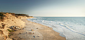 Soulac sur Mer beach, French Atlantic coast, Aquitaine, France