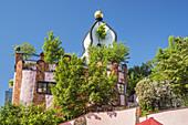Hundertwasserhaus Green Citadel of Friedensreich Hundertwasser, Magdeburg, Saxony-Anhalt