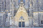 West portal of Magdeburg Cathedral, Magdeburg, Saxony-Anhalt