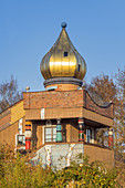 Hundertwasser Day Care Center Kupferhammer 93 in Frankfurt / Main, Main-Heddernheim, Hesse