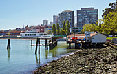 Maritime Museum and Ghiradelli Square, San Francisco, California, USA