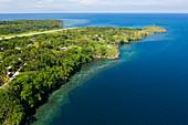 Fjordlandschaft von Cape Nelson, Tufi, Oro Provinz, Papua Neuguinea