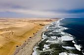 Küste bei Henties Bay, Henties Bay, Namibia