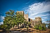 Castelo de São Miguel, Guimarães, Minho, Northern Portugal, Portugal,