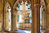 Royal Cloister in the Dominican Monastery of Santa Maria da Vitoria in Batalha, Estremadura, Portugal