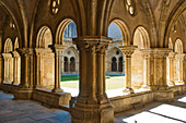 Cloister in the Igreja do Salvador in the old town, Coimbra, Beira, Central Portugal, Portugal