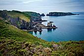 Felsige Küstenlandschaft, Kanalinsel Sark