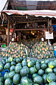 Watermelons and pineapple business in Chiang Mai, Chiang Mai, Thailand