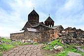 Weg zum Kloster Howhannawank bei Ashtarak, nördlich von Jerewan, Armenien, Asien