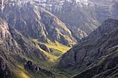 Landscape of the Worotan Gorge at Goris, South Armenia, Asia