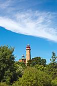 Old and new lighthouse at Cape Arkona, Rügen, Baltic Sea, Mecklenburg-Vorpommern, Germany