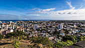 Port Louis capital of Mauritius panorama