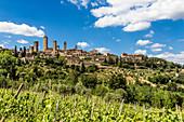 San Gimignano an Italian small town in Tuscany