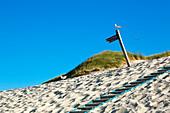 Weg zum Strand, Amrum, Nordsee, Schleswig-Holstein, Deutschland