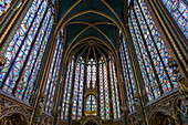 Sainte-Chapelle, Île de la Cite, Paris, France