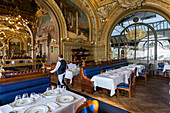Art deco station restaurant Le Train Bleu, Gare de Lyon, Paris, France