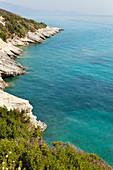Xigia Schwefel Strand mit heissen Quellen, Zakynthos, Ionische Inseln, Griechenland