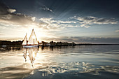 TWIN SWITCH SIR SHACKLETON ON THE Ammersee, Bavaria Germany * Lake Ammer, Bavaria, Germany