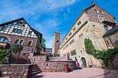 Wartburg Castle, UNESCO World Heritage Site, Thuringia, Germany, Europe