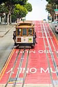Straßenbahnen, San Francisco, Kalifornien, Vereinigte Staaten von Amerika, Nordamerika