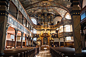 Interior of the Dreifaltigkeitskirche next to Speyer Cathedral, Speyer, Germany, Europe