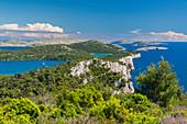 Blick auf die Kornaten, Kroatien