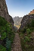 Path at Pico do Arieiro, Madeira, Portugal