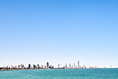 Skyline of Kuwait City, seen from the Persian Gulf