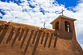The San Francisco de Asis mission church in Taos, New Mexico is one of the most iconic structures in the Southwest and has been named a World Heritage Site by UNESCO and a U.S. National Historic Monument.