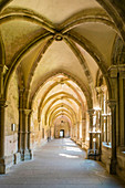 Interior of Maulbronn Monastery (Kloster Maulbronn), UNESCO World Heritage Site, Maulbronn, Baden-Wurttemberg, Germany