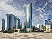 Skyscrapers, West Bay, Diplomatic Area, Doha, Qatar