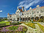 Bahnhof, Dunedin, Otago, Südinsel, Neuseeland, Ozeanien