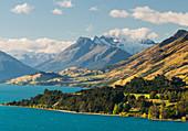 Lake Wakatipu, Mt. Earnslaw, Otago, Südinsel, Neuseeland, Ozeanien