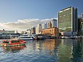 Fährterminal, Waterfront, Auckland, Nordinsel, Neuseeland, Ozeanien