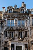 Maison Maillard, Renaissance architecture, Rue des Forges in Dijon, Cote d Or, Burgundy, France
