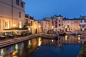 Canal de Caronte in Martigues, little venice, Bouches-du-Rhône, France