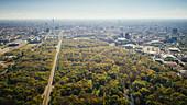 Sonniger Tiergarten, Berlin, Deutschland